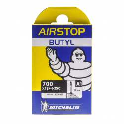 Camera d'aria Michelin Airstop Butyl 700x18/25 52mm