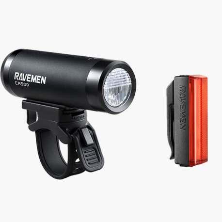 Bundle Ravemen Luce Anteriore Ravemen CR500 + Luce Posteriore Ravemen TR20 2018
