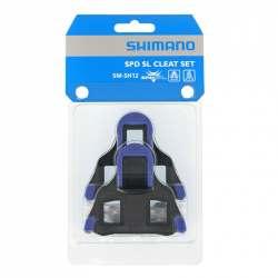 Tacchette Shimano SPD-SL SH12 Blu 2°