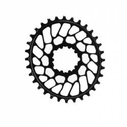 Corona Ovale Absolute Black Sram BB30 Direct Mount Flat