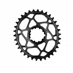 Absolute Black Oval Chainring for Sram GXP Direct Mount