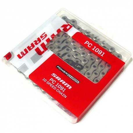 Catena Sram PC 1091, 10v con Power Lock 114 maglie