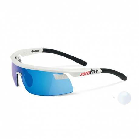 Olympo Triple Fit Interchange Shiny White - Black + ML Blue + Clear