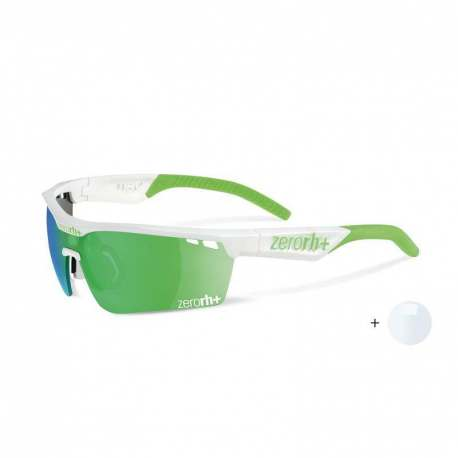 Gotha Team Interchange Matt white - Green Fluo + ML Green + Clear