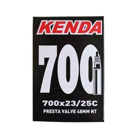 Camera d'aria Kenda 700x18/23 -Presta 48mm Smontabile