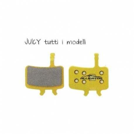 Coppia pastiglie Alligator sinterizzate, compatibili con Avid Juicy tutti i modelli - BB7 meccanico