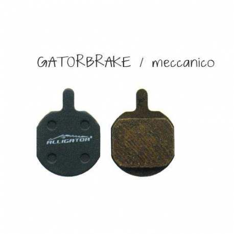 Semi-Metallic Brake Pads Alligator For Gatobrake/Mechanic