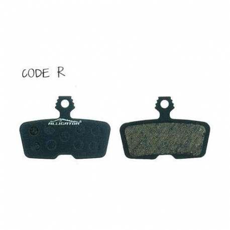 Coppia Pastiglie Semi Metalliche Alligator Per Avid Code R