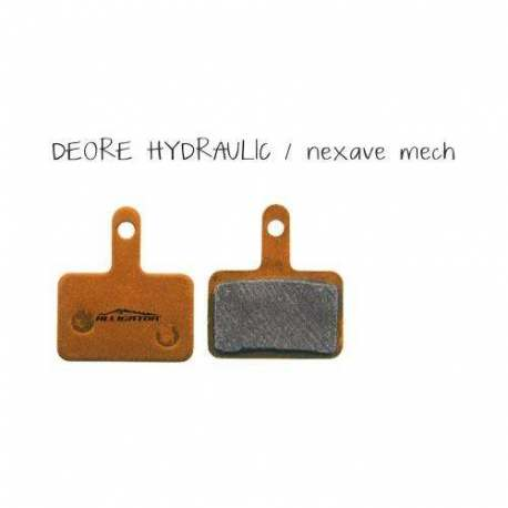 Organic Brake Pads Alligator For Shimano Deore Hydraulic - Nexave Mechanic