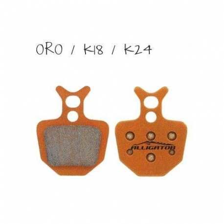 Coppia pastiglie Alligator organiche, compatibili con Formula Oro - K18 - K24