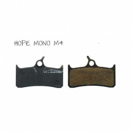 Coppia Pastiglie Semi Metalliche Alligator Per Deore XT Hope Mono M4