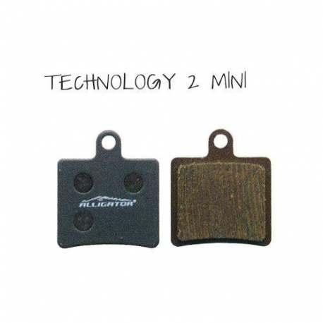 Coppia Pastiglie Semi Metalliche Alligator Per Hope Technology 2 Mini