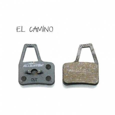 Coppia Pastiglie Semi Metalliche Alligator Per Hayes El Camino