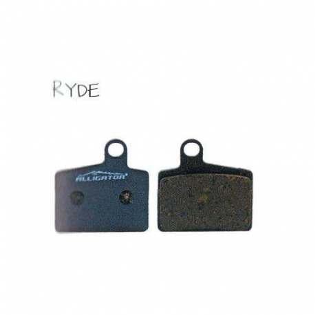 Coppia Pastiglie Semi Metalliche Alligator Per Hayes Ryde