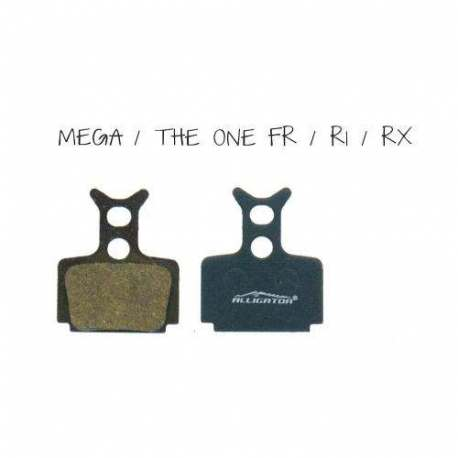 Coppia Pastiglie Semi Metalliche Alligator Per Formula Mega - The one FR - The one - R1 - RX