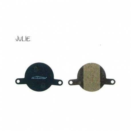 Coppia Pastiglie Semi Metalliche Alligator Per Magura Julie