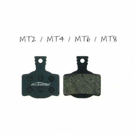 Coppia pastiglie Alligator semi-metalliche , compatibili con Magura MT2 - MT4 - MT6 - MT8