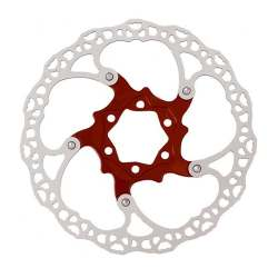 Disc Rotor Alligator Moai X 160mm - Red