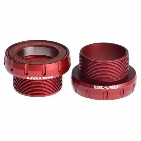 Movimento centrale Rotor BB30 BSA 68/73mm Ceramic Rosso