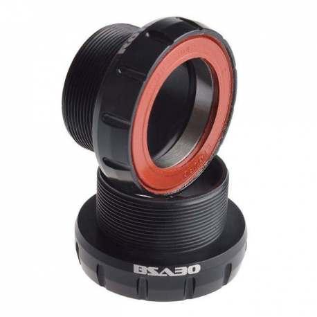 Movimento Centrale Rotor BSA30 68/73mm Acciaio Nero