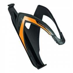 Portaborraccia Custom Race - Nero Lucido/Logo Arancio