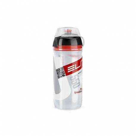 Borraccia Corsa Elite MTB Clear Logo Red Bio - 550ml