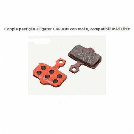 Coppia pastiglie Alligator CARBON Per Avid Elixir