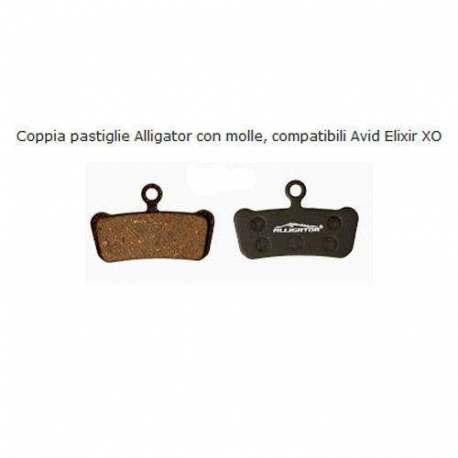 Coppia Pastiglie Semi Metalliche Alligator Per Avid Elixir XO