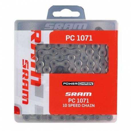 Catena Sram PC 1091R hollow pin 10v (Maglie forate)