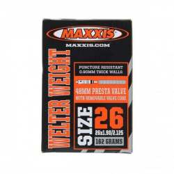 Camera d'Aria Maxxis Welter Weight 700x18/25c - 27x7/8-1 - Presta 48mm