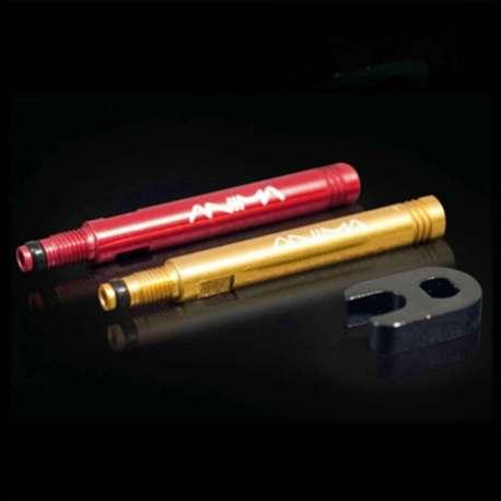 Estensione Valvola 40mm Alluminio con Chiavetta Alluminio