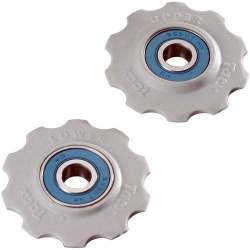 Kit 2 rotelline cuscinetti in ceramica 10 denti