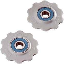 Kit 2 rotelline Tacx cuscinetti in ceramica 11 denti