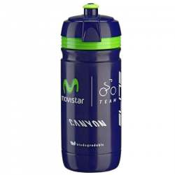 Borraccia corsa Elite Movistar 550ml
