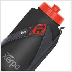 Borraccia Portaoggetti Xerpa Kit XP1+XP2 Plastica Nero-Rosso