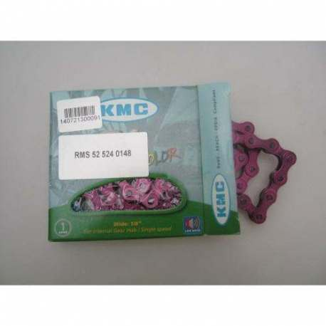Catena KMC 1/2 1/8 Z410 Rosa 112 Links