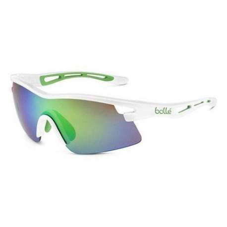Occhiali Bollé Vortex Green Edge White