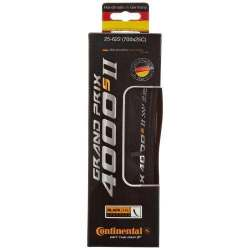 Continental Grand Prix 4000 S II Black Foldable Tyre