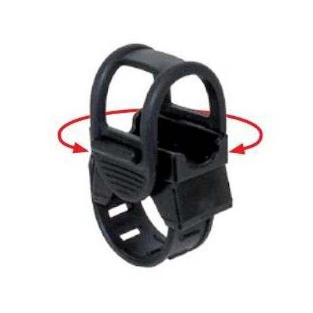 Attacco Rotante a due fascette per accessori vari