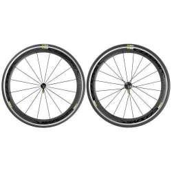 Coppia ruote Mavic Cosmic Pro Carbon Black 25 HG11