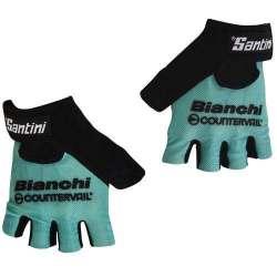 Guanti Santini Team Bianchi 2016