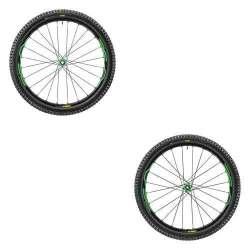 Coppia ruote Mavic XA Elite 29 Verde 2.35