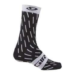 Calze Giro Comp Racer High Rise - Nero / Bianco