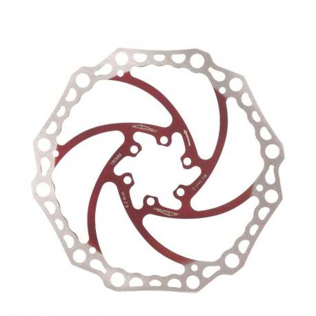 Disc Rotor Alligator Crown X 180mm - Red
