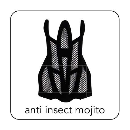 Rete anti insetti Kask Mojito